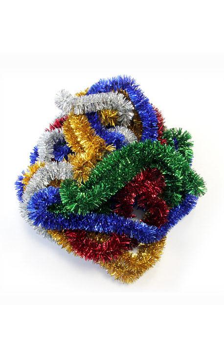 Lavsaninė girlianda 2M-2.5CM (Įvairių spalvų)