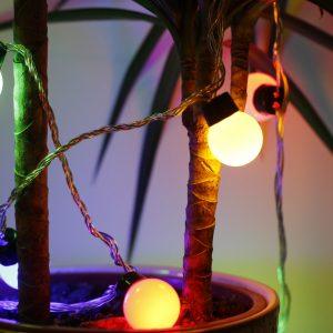 LED el. lauko ir vidaus girlianda 20L, 3M+3