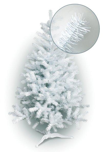 Dirbtinė Kalėdinė eglutė Balta (4-ių aukščių pasirinkimas)