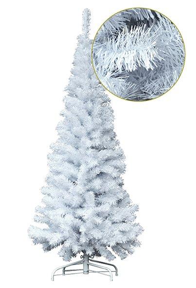 """Dirbtinė Kalėdinė eglutė """"Kamilė"""" balta 180cm"""