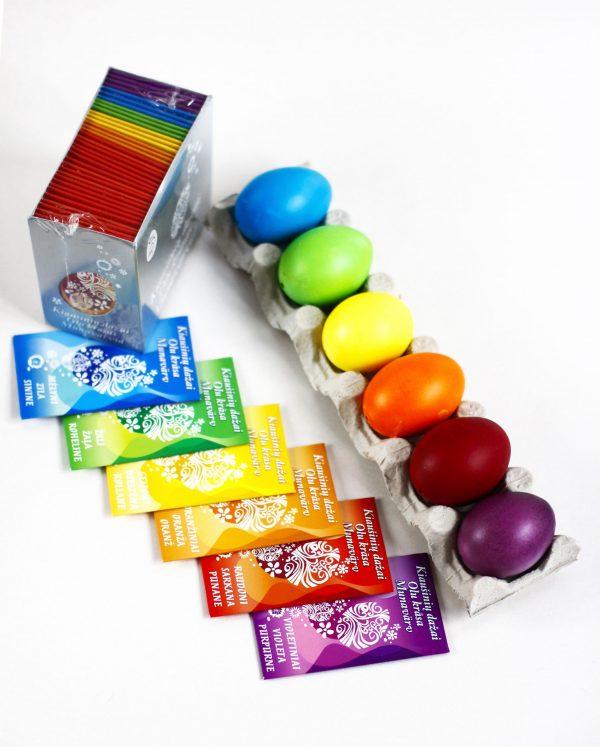 Kiaušinių dažai 1 spalva